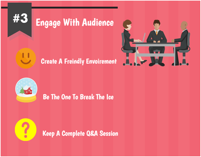 Engage With Audience