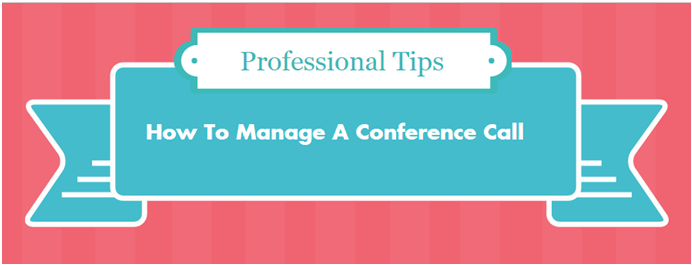 How to manage a conference call