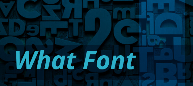 What Font 1