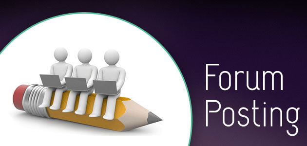 Forum Posting - Promote Your Business Website