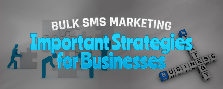 Mobile bulk sms marketing – important strategies for businesses.