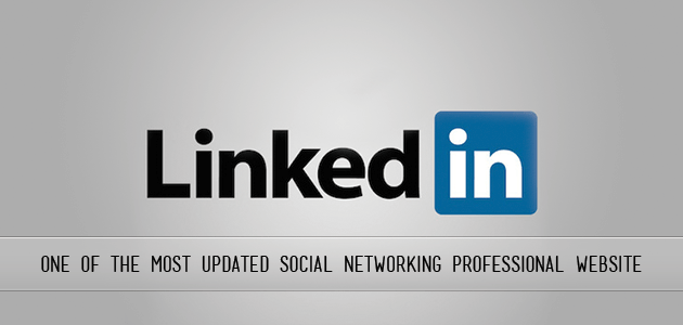 Linked In One Of The Most Updates Social Networking Professional Website